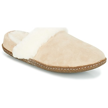 Shoes Women Slippers Sorel NAKISKA SLIDE II Beige