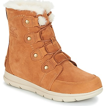 Shoes Women Mid boots Sorel SOREL EXPLORER JOAN Camel