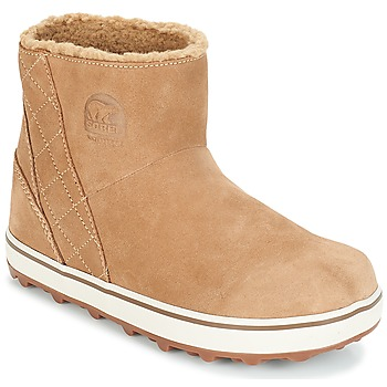 Shoes Women Snow boots Sorel GLACY™ SHORT Beige