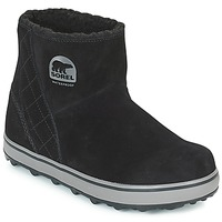 Shoes Women Snow boots Sorel GLACY™ SHORT Black