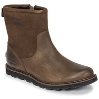 Shoes Men Mid boots Sorel MADSON ZIP WATERPROOF Brown
