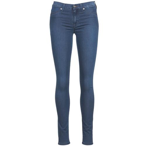 material Women slim jeans 7 for all Mankind SKINNY DENIM DELIGHT Blue / Medium