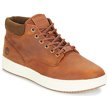 Shoes Men High top trainers Timberland CityRoam Cupsole Chukka Cognac