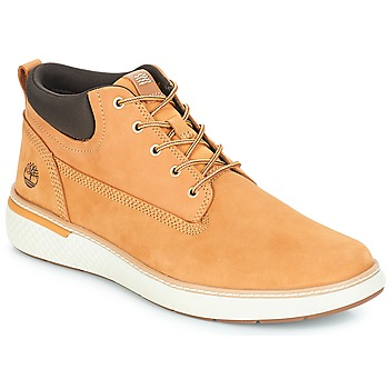 Shoes Men High top trainers Timberland Cross Mark PT Chukka Wheat