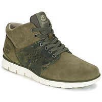 Shoes Men High top trainers Timberland Bradstreet Half Cab Kaki