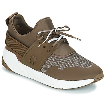 Shoes Women Low top trainers Timberland Kiri Up Knit Oxford w/PU Brown