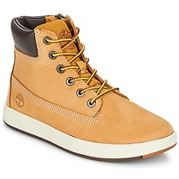 Shoes Children Mid boots Timberland Davis Square 6 Inch Boot Wheat / Brown