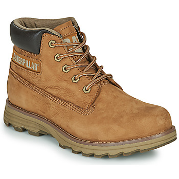 Shoes Men Mid boots Caterpillar FOUNDER Brown