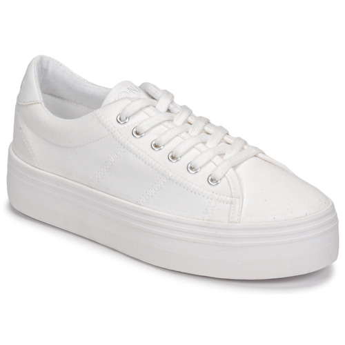 Shoes Women Low top trainers No Name PLATO SNEAKER White