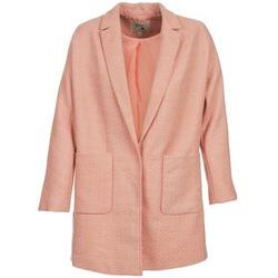 material Women coats Yumi AEKA Pink