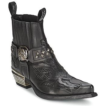 Mid boots New Rock PRETO