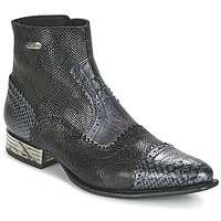 Shoes Mid boots New Rock HACHA Black / Blue