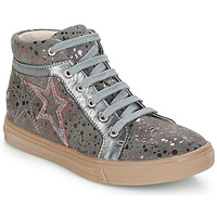 Shoes Girl High top trainers GBB NAVETTE Grey