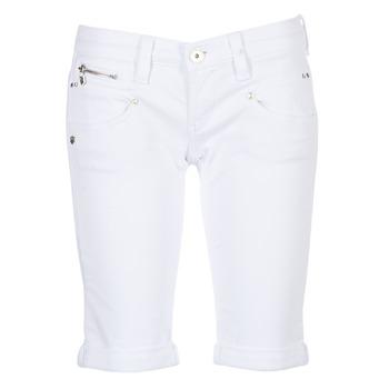 material Women Shorts / Bermudas Freeman T.Porter BELIXA White