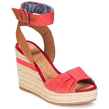 Shoes Women Sandals Napapijri BELLE Red