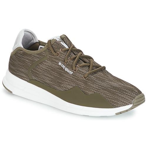 d3d46799a7be Shoes Men Low top trainers Le Coq Sportif SOLAS PREMIUM Olive   Night    Crazy