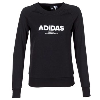 material Women sweaters adidas Originals ESS ALLCAP SWT Black