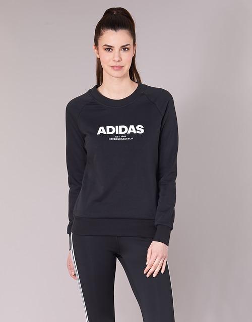 adidas Originals ESS ALLCAP SWT Black - Fast delivery with Spartoo ... e5618eb14c8