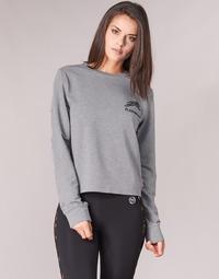 material Women sweaters Philipp Plein Sport ROUND AIR SQUAT Grey