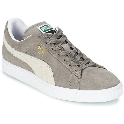 aritmética Practicar senderismo Enmarañarse  Puma SUEDE CLASSIC Grey - Fast delivery | Spartoo Europe ! - Shoes Low top  trainers 64,00 €