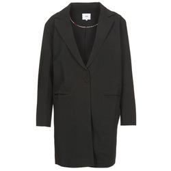 material Women coats Suncoo EVY Black