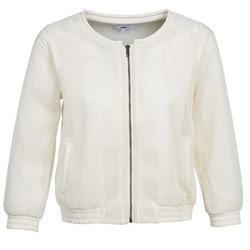 material Women Jackets / Blazers Suncoo DANA White