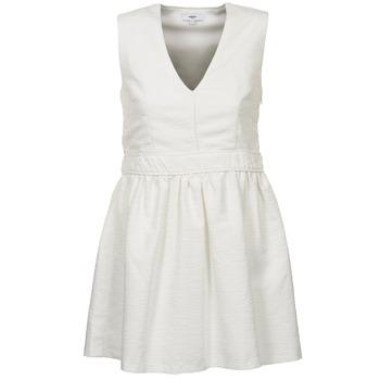 material Women Short Dresses Suncoo CAGLIARI White