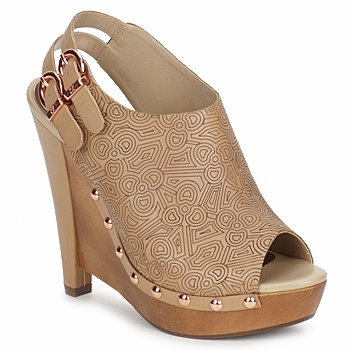 Court shoes Zandra Rhodes BROWNWYN