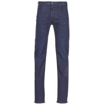 material Men straight jeans Emporio Armani BOUWI Blue / Medium