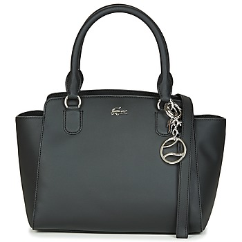 Bags Women Shoulder bags Lacoste DAILY CLASSIC SHOPPING BAG Black