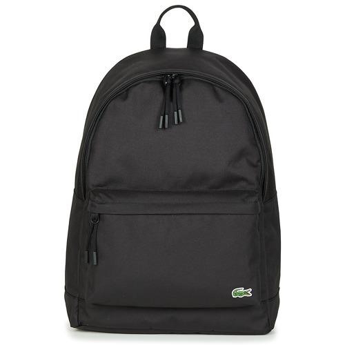 Bags Rucksacks Lacoste NEOCROC BACKPACK Black