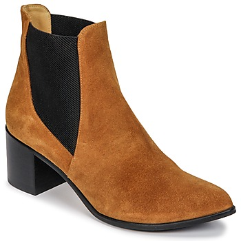 Shoes Women Ankle boots Emma Go GUNNAR Cognac