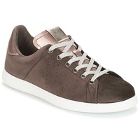 Shoes Women Low top trainers Victoria DEPORTIVO TERCIOPELO Brown