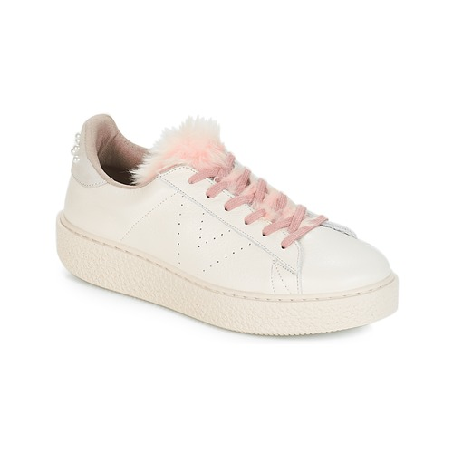 Shoes Low top trainers Victoria DEPORTIVO PIEL PERLAS Beige