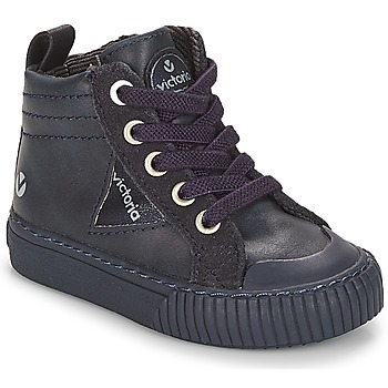 Shoes Children High top trainers Victoria BOTA PU CREMALLERA Marine
