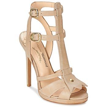 Shoes Women Sandals Vivienne Westwood CAVIL Beige