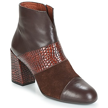 Shoes Women Ankle boots Hispanitas SAFRON Brown