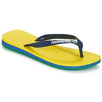 Shoes Men Flip flops Havaianas Brasil Layers Yellow
