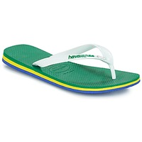 Shoes Men Flip flops Havaianas Brasil Layers Green