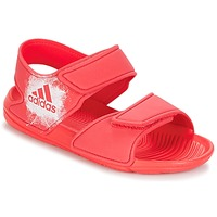 Shoes Girl Sandals adidas Originals ALTASWIM C Pink