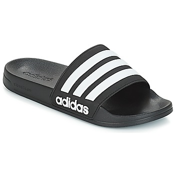 Shoes Tap-dancing adidas Performance ADILETTE SHOWER Black