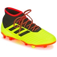 Shoes Men Football shoes adidas Originals PREDATOR 18.2 FG Yellow / Black / Red