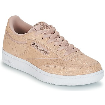 Shoes Girl Low top trainers Reebok Classic CLUB C J Pink / Glitter