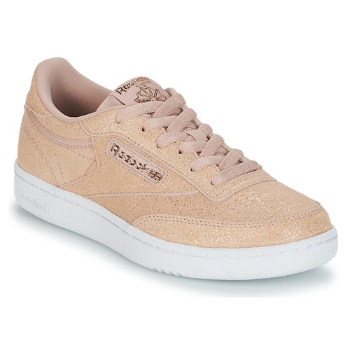 difícil de complacer arena suizo  Reebok Classic CLUB C J Pink / Glitter - Fast delivery | Spartoo Europe ! -  Shoes Low top trainers Child 43,96 €