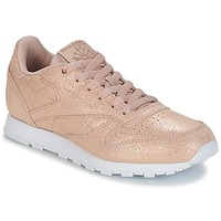 Shoes Girl Low top trainers Reebok Classic CLASSIC LEATHER J Gold