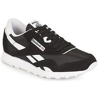 Shoes Children Low top trainers Reebok Classic CLASSIC NYLON J Black / White