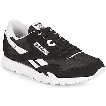 Shoes Children Low top trainers Reebok Classic CLASSIC NYLON J Black / White