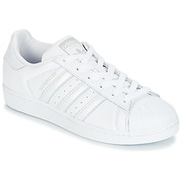 Shoes Women Low top trainers adidas Originals SUPERSTAR W White / Silver
