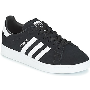 Shoes Children Low top trainers adidas Originals CAMPUS C Black