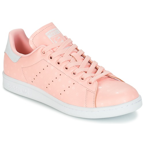 Shoes Women Low top trainers adidas Originals STAN SMITH W Pink